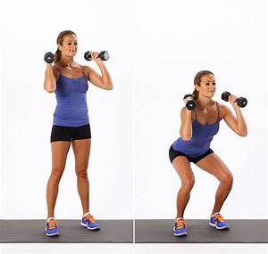 Butt Exercises Using Dumbbells | POPSUGAR Fitness