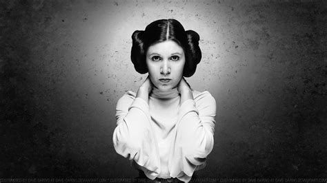 Carrie Fisher Princess Leia By Dave Daring On Deviantart