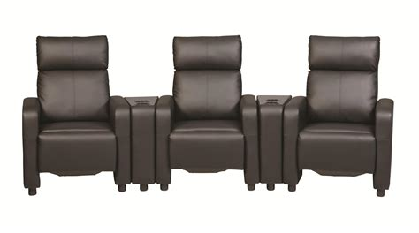 Contemporary Five Piece Reclining Home Theater Seating Entryway In Living Room Christmas Decorating Stickers Chinese Decor 5 Piece Set Chairs Sale Interior Design Of