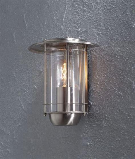 exterior satin nickel flush mounted wall light