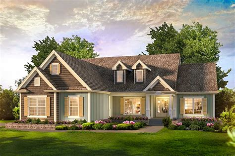 bed country ranch home plan ha architectural designs house plans