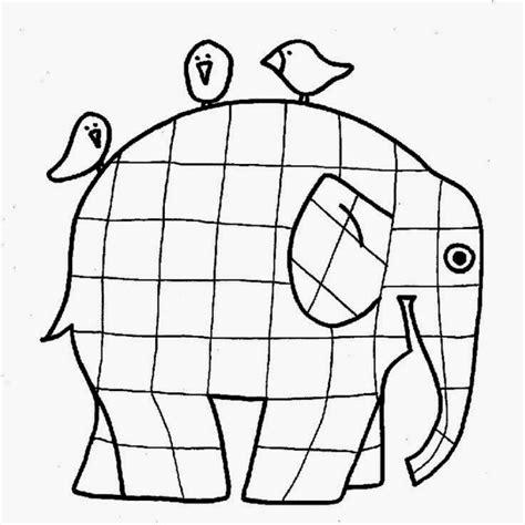 Elephant Template For Preschool by E Is For Elephant Preschool Craft Ducks N A Row