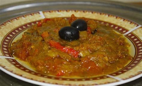 cuisine maghreb zaalouk purée d 39 aubergines cuisine du maghreb