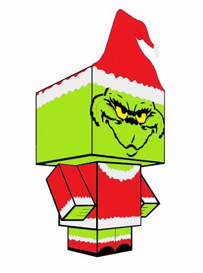 Grinch Clipart Paper Christmas Clip Face Whoville