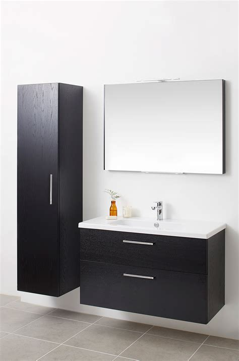 miller bathroom cabinets miller new york black single door cabinet 400 x 23336