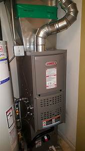 Lennox Ml180 Downflow Natural Gas Furnace Installed By
