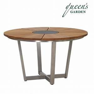 Tisch Klappbar Holz : runder gartentisch lorentz edelstahl holz ~ Orissabook.com Haus und Dekorationen