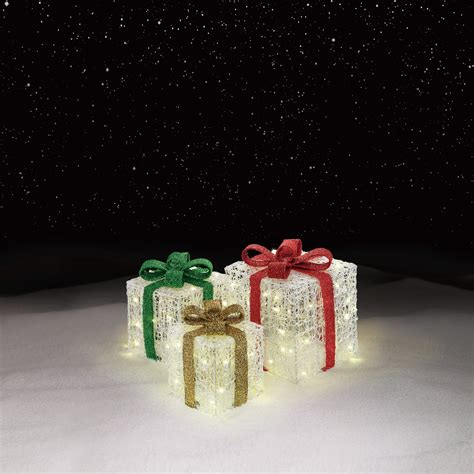 light  gift box decorations cheerful holiday
