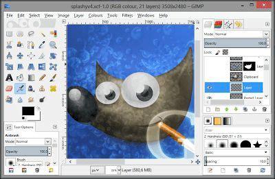gimp   drawing software drawing software