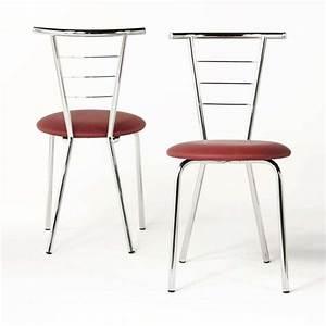 Chaise de cuisine valerie for Deco cuisine avec chaise en couleur pas cher