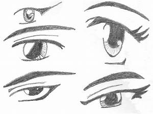 Anime Eyes by rhaeigan on DeviantArt