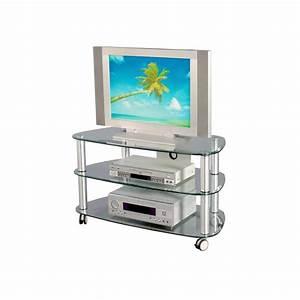 Tv Glastisch Mit Rollen : tv rack coal aus aluminium mit rollen ~ Bigdaddyawards.com Haus und Dekorationen