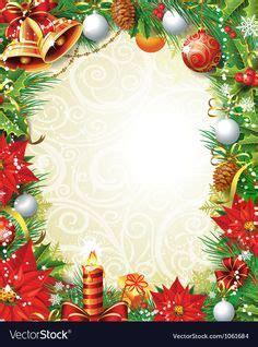 christmas bells page borders christmas border holly