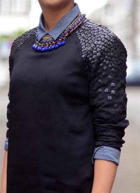 creative diy sweaters    fall  winter  modish