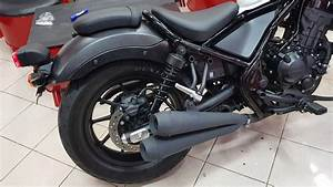 Honda Cmx 500 Rebel : honda rebel 300 500 cmx slip on twin exhaust black youtube ~ Medecine-chirurgie-esthetiques.com Avis de Voitures