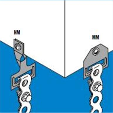 mm  mm drop suspension clip  perforated band trentside