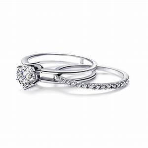 classic half carat diamond bridal set wedding set on sale With diamond wedding ring sets on sale
