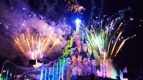 Disney Light Show by Disney Dreams Spectacular Time Show Hd At