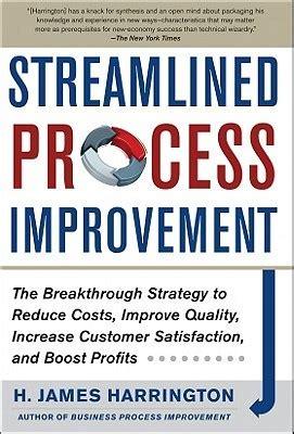 streamlined process improvement  breakthrough strategy