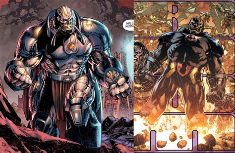 throne chair for galactus vs 52 darkseid and anti monitor battles