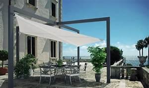 Sonnenschutz mit terrassen berdachung und sonnensegel for Terrassenüberdachung mit sonnensegel