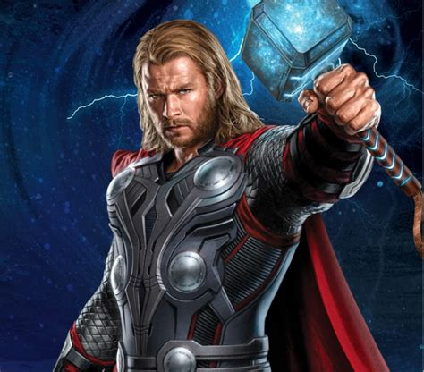thor runs the cartoon superhero gauntlet battles