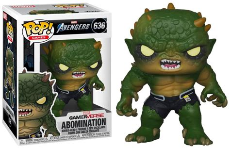 funko pop marvels avengers  abomination