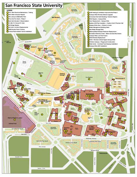 University San Francisco Campus Map