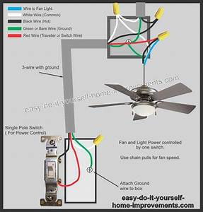Wiring Diagram For Ceiling Fans