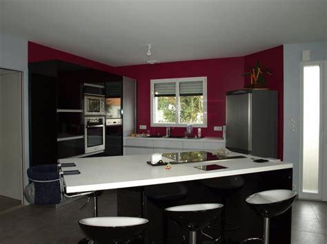 cuisine framboise décoratio notre maison le masson dans le 29 landerneau
