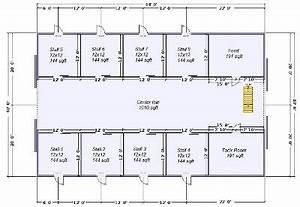 horse barn kits horse barns by apb pole barns With 8 stall horse barn plans