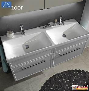 Waschtisch Set 120 Cm : marlin loop waschtisch set 120 cm mit doppelwaschtisch und 2 ausz gen rahmenoptik impuls home ~ Bigdaddyawards.com Haus und Dekorationen