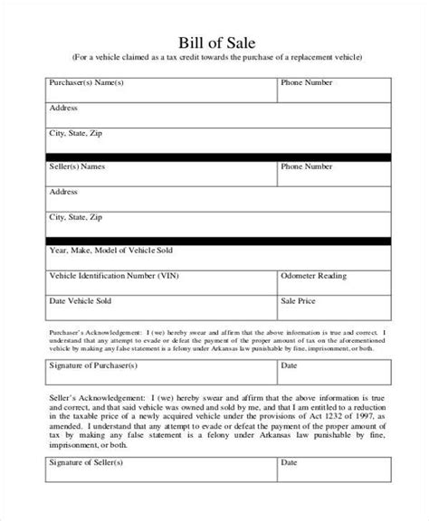 18090 business bill of form sle business bill of forms 7 free documents in