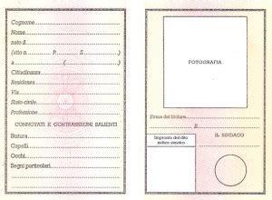 Ufficio Anagrafe Reggio Emilia by Carta D Identit 224 Comune Di Casina
