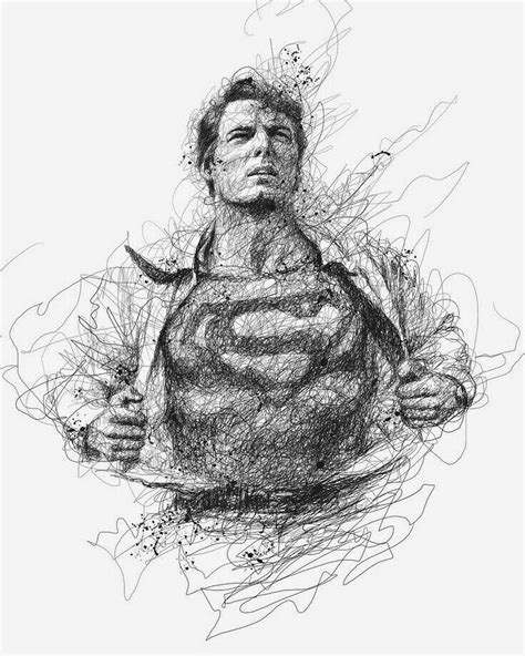 Pin by Vincent Petrova on Dc | Superman drawing, Sketches