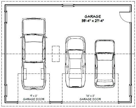 typical dimensions of a car 3 car garage dimensions venidami us