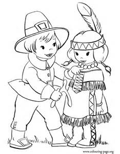 thanksgiving thanksgiving costumes coloring page