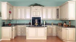 Cream Painted Kitchen Cabinets