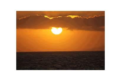 Flash Island Canary Islands Tenerife Sun Setting