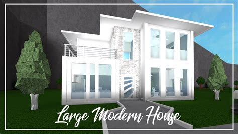 Roblox  Welcome To Bloxburg Large Modern House Doovi