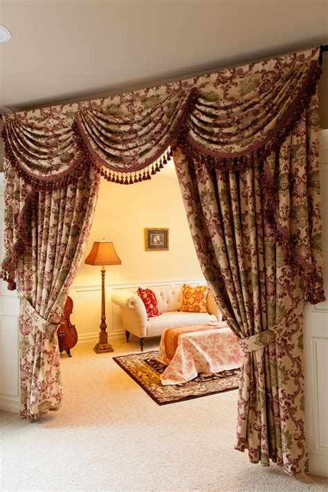 drapes and valances rosy swags and tails valance curtain drapes
