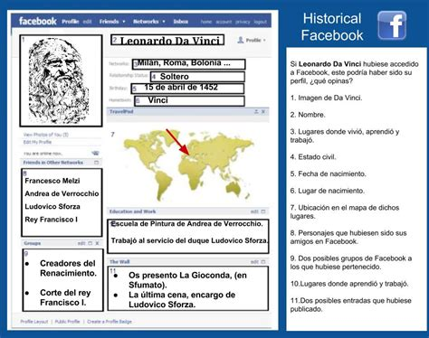 tecnoensenando perfil de facebook  personajes historicos