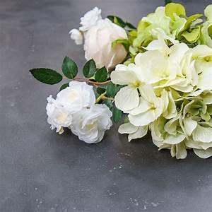 Rose Blanche Artificielle : rose blanche fleur artificielle blanc interior 39 s ~ Teatrodelosmanantiales.com Idées de Décoration