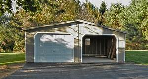 2 car garages two car garage dimensions at alans factory With 24x24 shed kit