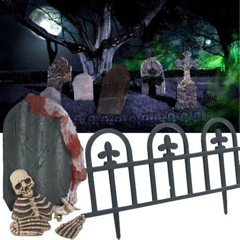 halloween tombstones  gravestones