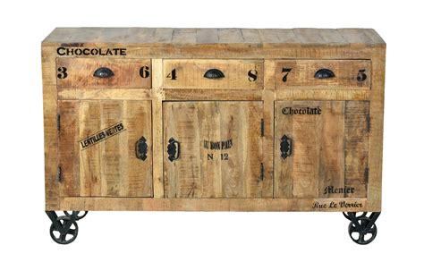 industrial moebel sideboard kommode aus massivholz