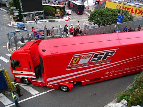 ferrari truck scuderia ferrari truck wesley brandon rosenblum flickr