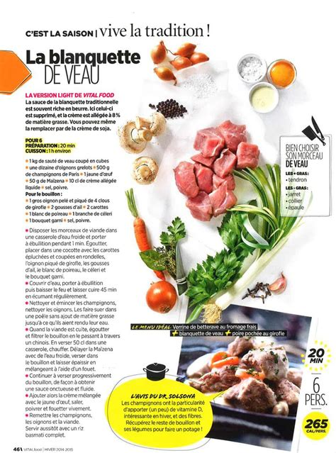 cuisiner la blanquette de veau las 25 mejores ideas sobre blanquette veau en y