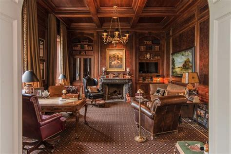 million historic lakefront brick mansion  gallatin