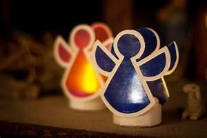 Teelichter Basteln Weihnachten : bastelvorlage windlicht engel unser kreativblog ~ Frokenaadalensverden.com Haus und Dekorationen